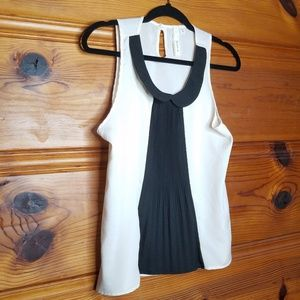 Robin K Antro Peter Pan Collar Tank Size Medium